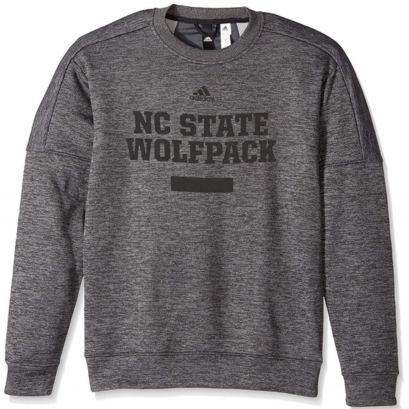 b3cb7974 adidas Shirts | Nwt Nc State Team Issue Fleece Crew Xl | Poshmark